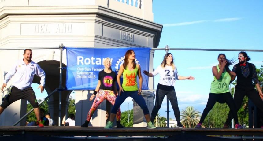 Multitudinario Zumbathon Solidaria en La Alameda