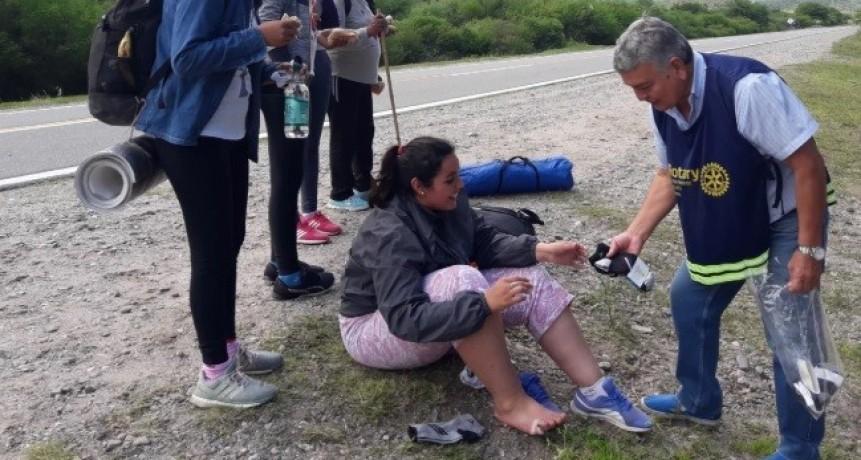 Atención peregrinos: Escuelas habilitadas para alojarlos