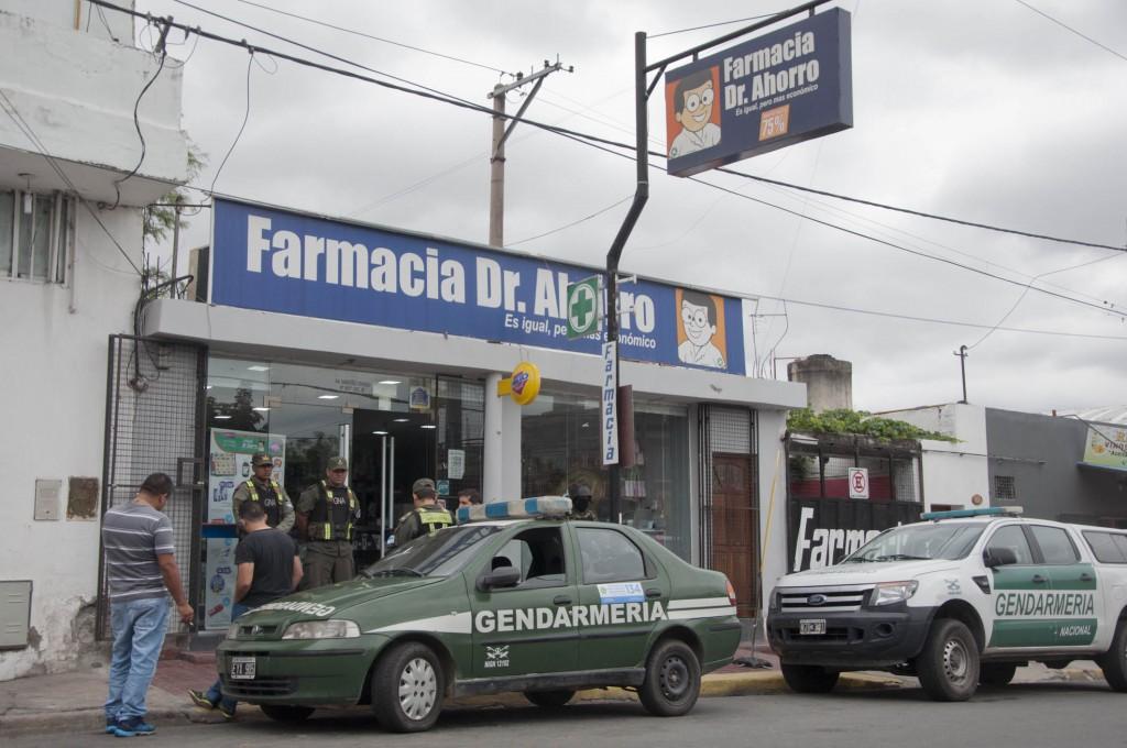 Farmacia fue allanada por la venta ilegal de precursores químicos, ansiolíticos y cocaína