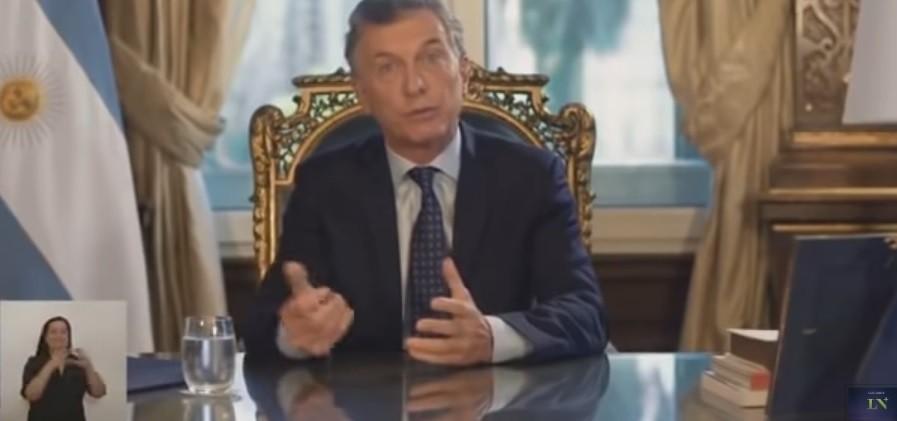 Mauricio Macri en cadena nacional: Dejamos un Estado en el que es más difícil robar plata a los argentinos