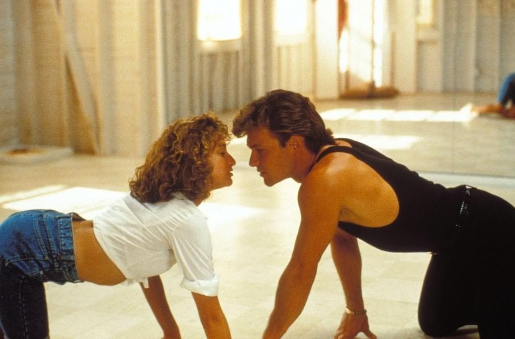Esto es lo que sucedió durante la filmación de Dirty Dancing