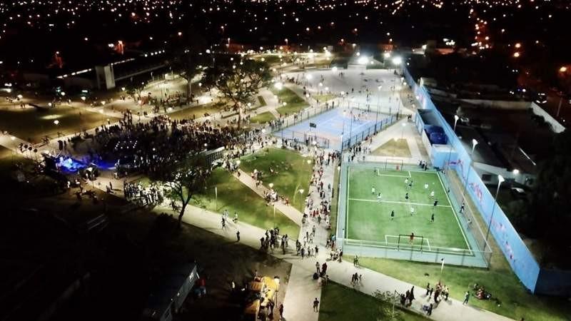 Corpacci Dejo inaugurado el Parque Urbano Raúl Ricardo Alfonsín