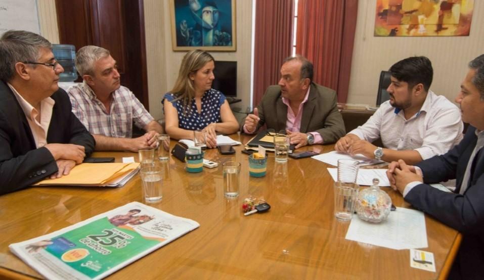 El Gobierno analizó junto a Zenteno la situación de Valle Viejo