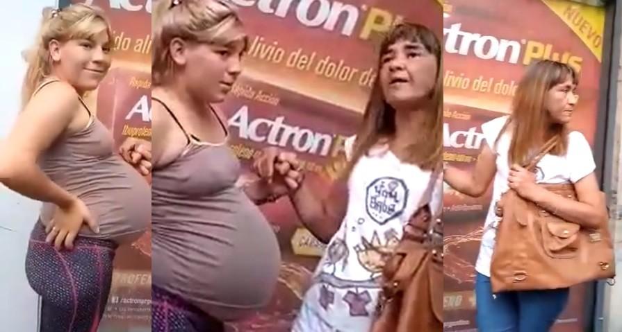 Detuvieron a una mechera embarazada y el video se hizo viral: Vos laburá que nosotras te robamos