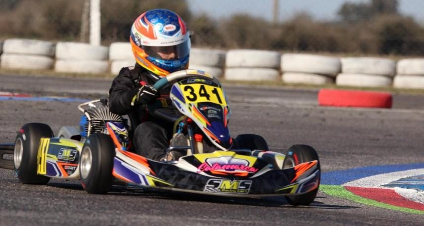 Moreyra se cerró el Argentino de Karting y es el campeón