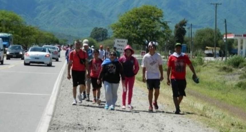 Hasta el momento, ingresaron 6746 peregrinos al Valle Central