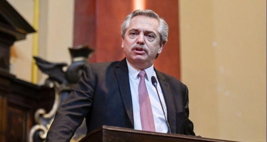 El Presidente anticipó medidas de alivio fiscal y pidió parar con los despidos