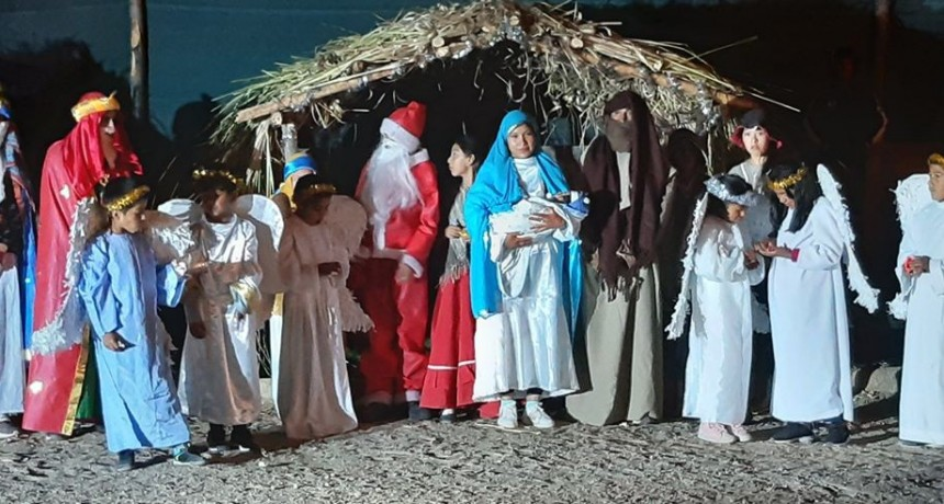 En Villa Vil se celebró el Festival de la Navidad en los Cerros