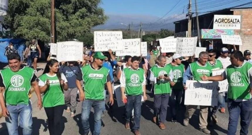 ATE reclamó por la baja de contratados que anunció el municipio de Valle Viejo