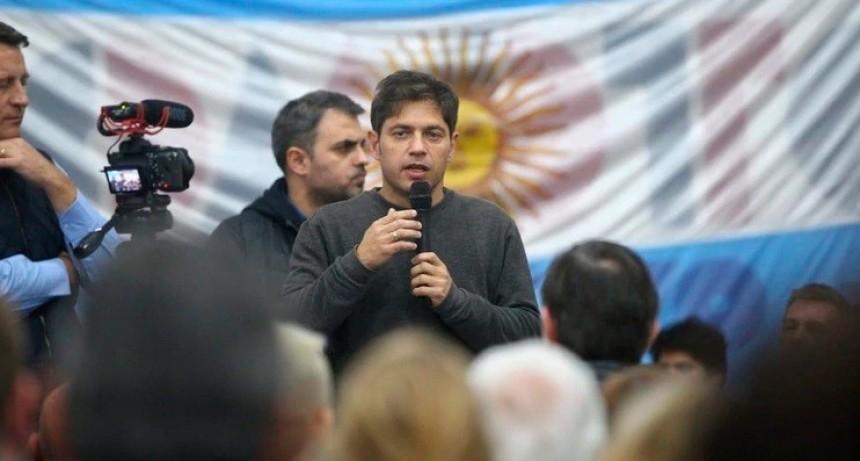 Axel Kicillof buscará aprobar una suba de impuestos del 75% en la provincia de Buenos Aires
