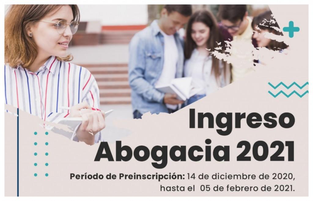 Inscripciones Facultad de Derecho