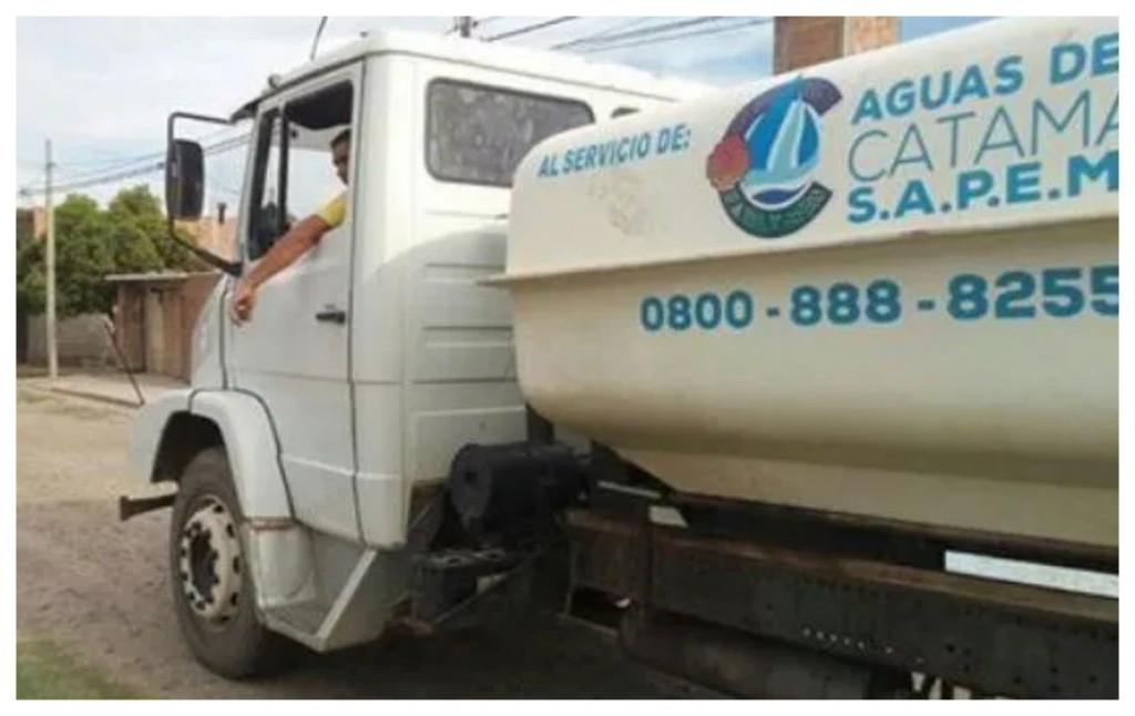 Servicio de camiones cisternas