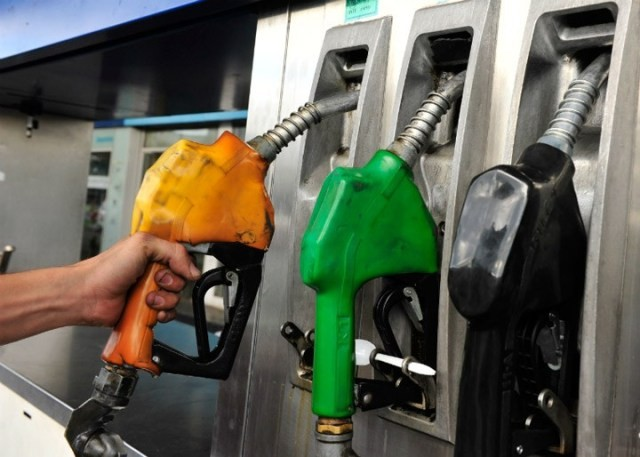 Aumentarán 4,5% en promedio los combustibles a partir de este miércoles