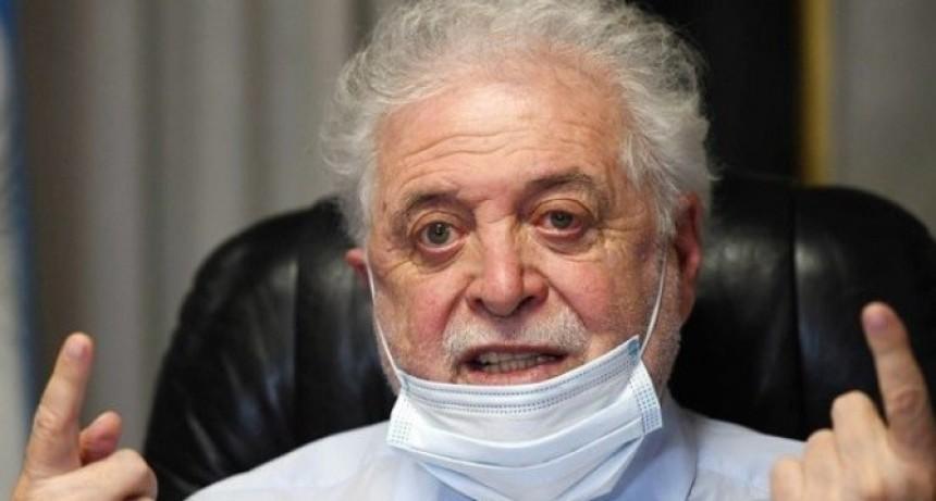 "Ginés González García: ""La situación se nos descontroló, por culpa de los Anticuarentena"""